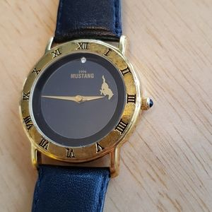 1994 Mustang Genuine Leather watch